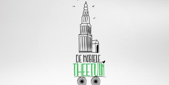 logo ontwerp De Mobiele Theetuin
