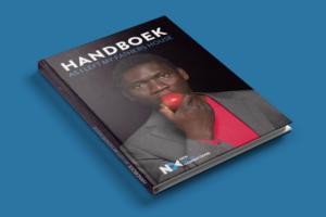 Pagina uit het handboek NDC - grafisch ontwerp
